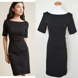 ModCloth Ritzy Wishes Sheath Dress BLACK